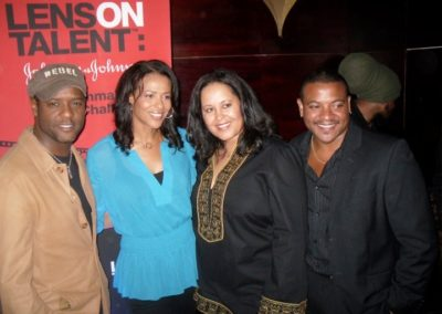 With Blair Underwood, Tracey Costello (actress) and Sean Johnson (Executive producer of Burned)