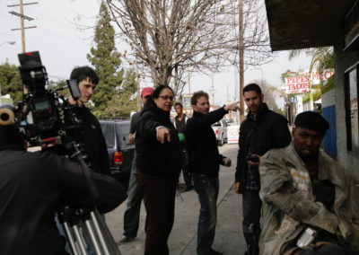 Directing Street Scene for Burned