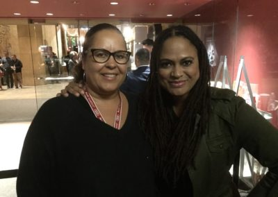 Phyllis with Ava DuVernay